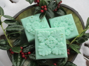 Winter Solstice Soap-Christmas, Yule, Yuletide, Holidays, Gift