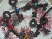 Skeleton Key Amulet-Protection, Papa Legba, Eleggua, Luck