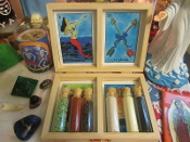 Lucky Loteria Curio Set-Luck, Protection, Attraction, Uncrossing