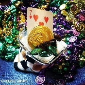 Happy Pocketbook Charm-Altar Mojo for Prosperity and Employment