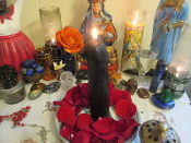 Black Phallus Candle-Fidelity, Relationship, Trust, Healing