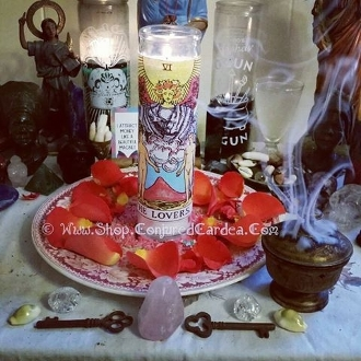 The Lovers Candle & Oil-Draws Lasting Love, Commitment
