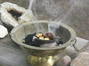Charcoal Briquettes for Resin Incense, Loose Herbs, Smudge, Sage