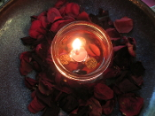 Laveau's Love Lamp-Conjure Lamp with 15 Wicks to Draw in Love
