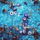 Evil Eye Blue Hoodoo Salts-Peace,Uncrossing, Protection, Healing