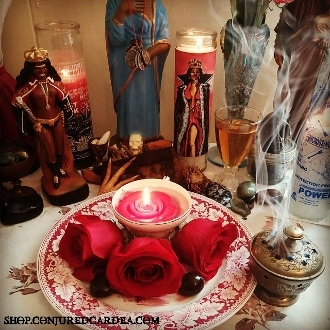 Pomba Gira Service-Feb. 14th-Wealth, Healing, Love,Protection