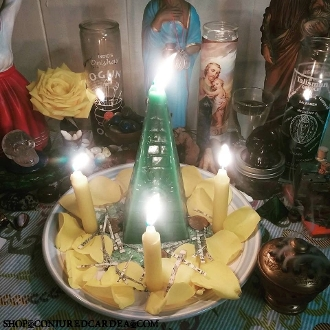 Money Pyramid Service-For Fast Luck, Emergency Prosperity
