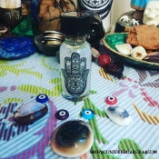 Evil Eye/Hamsa Oil-Wards Against & Removes the Evil Eye
