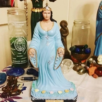 Yemaya-Iemanja Roupa Azul-Fertility, Motherhood, Riches, Wisdom