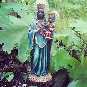 Erzulie Dantor-St.Barbara-Love, Riches, Beauty-Black Madonna