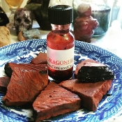 Dragon's Blood Oil-Power, Love, Protection, Aphrodisiac,Strength