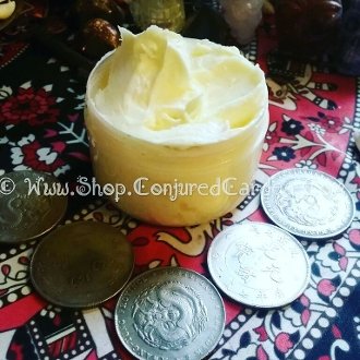 Gold Fingers Body Butter-Triple Luck, Prosperity, Opportunity