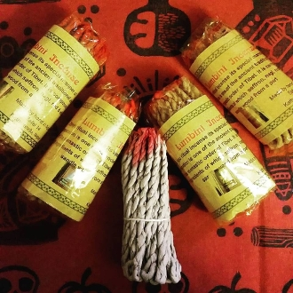 Hand-Made Tibten Monk Incense Ropes-Blessings from the Divine