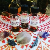 Lunaria Oil-Manifestation Power, Spell Booster, Lunar Blessings