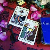 One Question SAMPLE-Tarot Reading-TWO CARDS