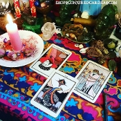 1 Question Reading and Vigil-Tarot and Spellwork