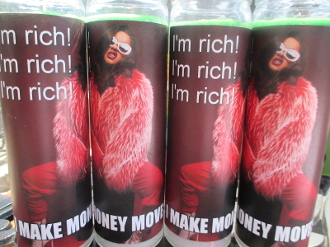 Cardi B Novena Candle-Dressed for Business and Wealth