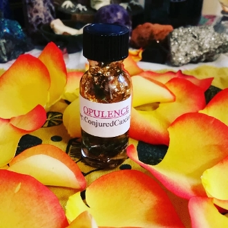 Opulence Oil-Manifest Power, Wealth, Confidence, Glamour