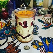 La Madamas Devotional Candle-Luck, Prosperity, Ancestor Worship