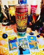 1 New Year Jumbo Prayer Candle AND Tarot Reading for 2019!