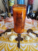 1 Ace of Cups Tarot Energy Vigil Candle