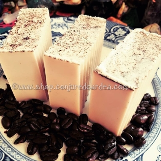 Coffee Conjure Soap- Speed up Success, Roots your Goals