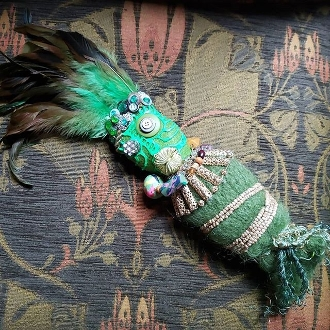 New Orleans Style Voodoo Doll-Wealth, Prosperity, Business