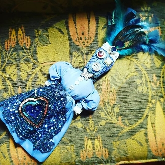 New Orleans Style Voodoo Doll-Health, Renewal, Clarity, Peace