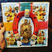 Lady of Guadalupe  Plaque-Good Fortune to Home and Business