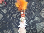 Small New Orleans Voodoo Doll-Success, Open Roads, Abundance