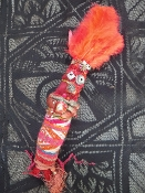 New Orleans Style Voodoo Doll-Success, Power, Passion