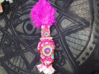 Small New Orleans Voodoo Doll-Love, Relationships, Attraction
