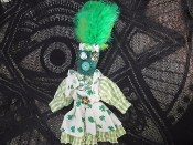 Small New Orleans Voodoo Doll-Wealth, Prosperity, Business