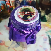 """Dominant Spirit"" Palm Oil Candle WITH Spell Instructions"