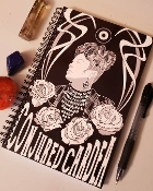 Conjured Cardea Magical Notebook-80 Lined Pages